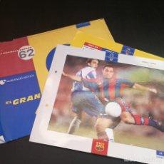 Coleccionismo deportivo: EL GRAN ÁLBUM DEL BARÇA - NÚMERO 62 - SERGI (1993) - 100 ANYS EN BLAU GRANA. Lote 214944165