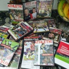 Coleccionismo deportivo: ATHLETIC, LOTE 55 PARTIDOS EN DVD. Lote 215313542