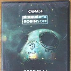 Coleccionismo deportivo: INFORME ROBINSON ESPECIAL EUROCOPA DVD. Lote 217832280