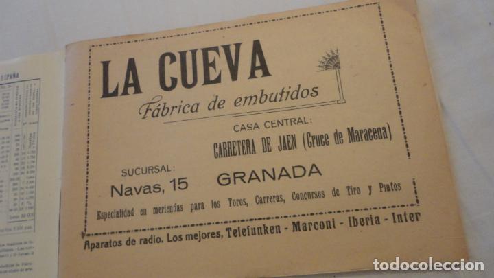 Coleccionismo deportivo: FEDERACION DE TIRO NACIONAL ESPAÑA.GRANADA 1949.POLIGONO LAS CONEJERAS.HAMMERLI CIA.STAR.LLAMA. - Foto 3 - 218048222