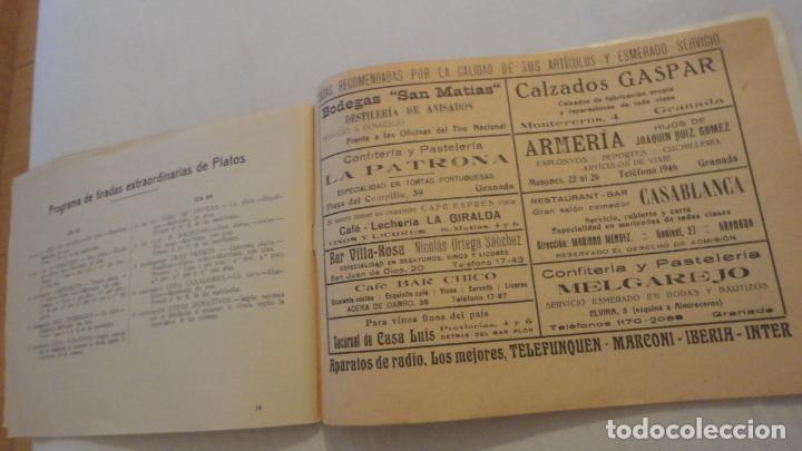 Coleccionismo deportivo: FEDERACION DE TIRO NACIONAL ESPAÑA.GRANADA 1949.POLIGONO LAS CONEJERAS.HAMMERLI CIA.STAR.LLAMA. - Foto 11 - 218048222