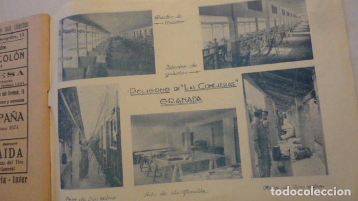 Coleccionismo deportivo: FEDERACION DE TIRO NACIONAL ESPAÑA.GRANADA 1949.POLIGONO LAS CONEJERAS.HAMMERLI CIA.STAR.LLAMA. - Foto 13 - 218048222
