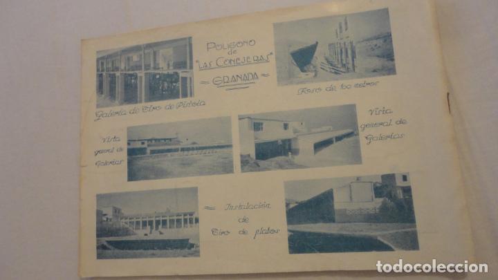 Coleccionismo deportivo: FEDERACION DE TIRO NACIONAL ESPAÑA.GRANADA 1949.POLIGONO LAS CONEJERAS.HAMMERLI CIA.STAR.LLAMA. - Foto 14 - 218048222