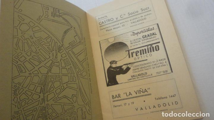 Coleccionismo deportivo: REGLAMENTO.CONCURSO NACIONAL DE TIRO.REPRESENTACION VALLADOLID.FUSIL GUERRA.1946 - Foto 2 - 218130488