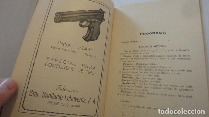 Coleccionismo deportivo: REGLAMENTO.CONCURSO NACIONAL DE TIRO.REPRESENTACION VALLADOLID.FUSIL GUERRA.1946 - Foto 5 - 218130488