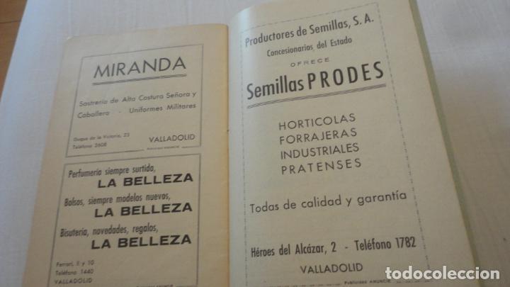 Coleccionismo deportivo: REGLAMENTO.CONCURSO NACIONAL DE TIRO.REPRESENTACION VALLADOLID.FUSIL GUERRA.1946 - Foto 7 - 218130488