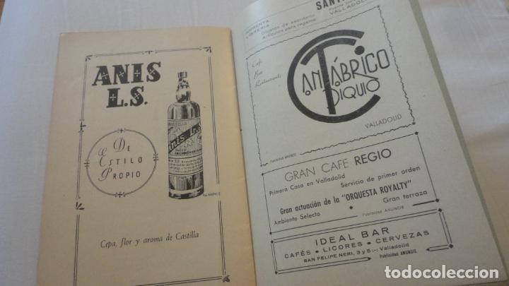 Coleccionismo deportivo: REGLAMENTO.CONCURSO NACIONAL DE TIRO.REPRESENTACION VALLADOLID.FUSIL GUERRA.1946 - Foto 8 - 218130488