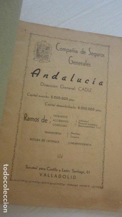 Coleccionismo deportivo: REGLAMENTO-PROGRAMA CONCURSO NACIONAL DE TIRO.ARMA CORTA DE GUERRA.TIRO OLIMPICO.VALLADOLID 1947 - Foto 2 - 218156381