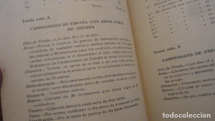 Coleccionismo deportivo: REGLAMENTO-PROGRAMA CONCURSO NACIONAL DE TIRO.ARMA CORTA DE GUERRA.TIRO OLIMPICO.VALLADOLID 1947 - Foto 6 - 218156381