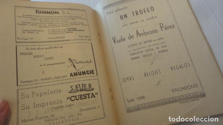 Coleccionismo deportivo: REGLAMENTO-PROGRAMA CONCURSO NACIONAL DE TIRO.ARMA CORTA DE GUERRA.TIRO OLIMPICO.VALLADOLID 1947 - Foto 7 - 218156381