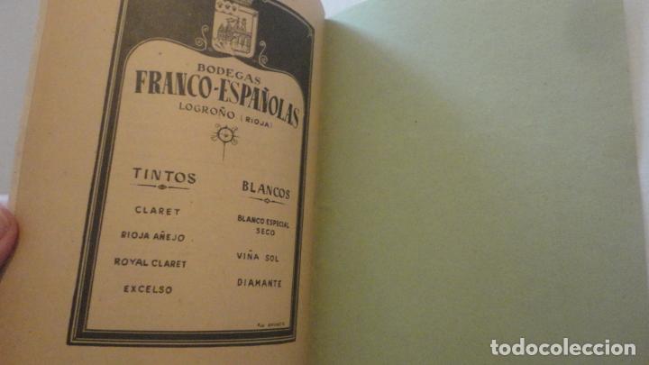 Coleccionismo deportivo: REGLAMENTO-PROGRAMA CONCURSO NACIONAL DE TIRO.ARMA CORTA DE GUERRA.TIRO OLIMPICO.VALLADOLID 1947 - Foto 9 - 218156381