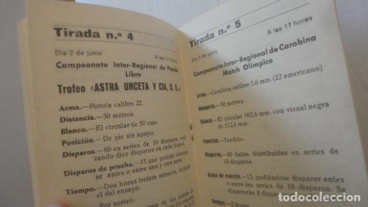 Coleccionismo deportivo: PROGRAMA.COMPETICIONES DEPORTIVAS TIRO OLIMPICO ESPAÑOL.CARABINA NEUMATICA.PISTOLA 9MM.GRANADA 1978 - Foto 4 - 218156903