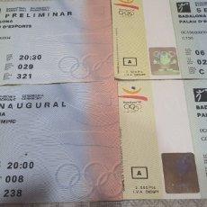 Collectionnisme sportif: ENTRADAS BARCELONA 92. Lote 218264376