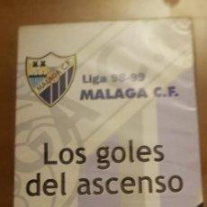 Coleccionismo deportivo: LOS GOLES DEL ASCENSO MÁLAGA C. F. LIGA 98-99 (A ESTRENAR) CANAL SUR-LA OPINIÓN. Lote 218693950