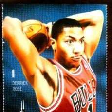 Coleccionismo deportivo: ENTRADA BALONCESTO NBA CHICAGO BULLS BROOKLYN NETS 2014. Lote 219431176