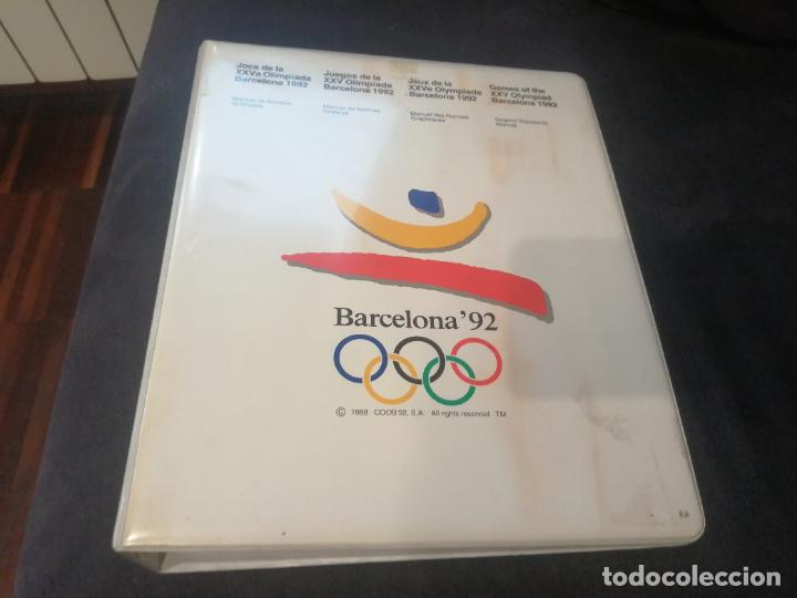 BARCELONA 92. MUY RARO. VER VIDEO. OLIMPIADAS. PARA COLECCIONISTAS. MANUAL DE NORMAS GRÁFICAS. (Coleccionismo Deportivo - Documentos de Deportes - Otros)
