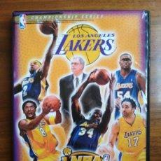 Coleccionismo deportivo: DVD NBA CHAMPIONSHIP SERIES LOS ANGELES LAKERS 2000-2001 2001-2002 LEER DETALLE!. Lote 221379673