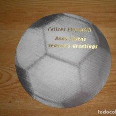 Coleccionismo deportivo: FELICITACIÓN NAVIDEÑA CONMEBOL 2002. Lote 221681332