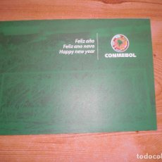 Coleccionismo deportivo: FELICITACIÓN NAVIDEÑA CONMEBOL 2011. Lote 221681508