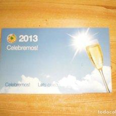 Coleccionismo deportivo: FELICITACIÓN NAVIDEÑA CONMEBOL 2013. Lote 221681741