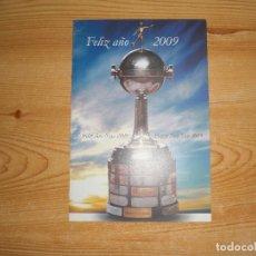 Coleccionismo deportivo: FELICITACIÓN NAVIDEÑA CONMEBOL 2009. Lote 221681953