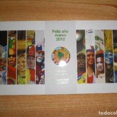 Coleccionismo deportivo: FELICITACIÓN NAVIDEÑA CONMEBOL 2012. Lote 221682007