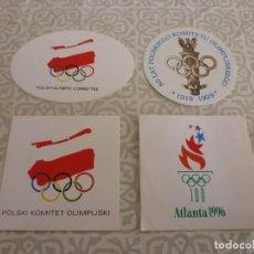 Coleccionismo deportivo: (LLL) ADHESIVOS ORIGINALES Y EN PERFECTO ESTADO DE DIVERSOS JUEGOS OLIMPICOS.. Lote 221870726
