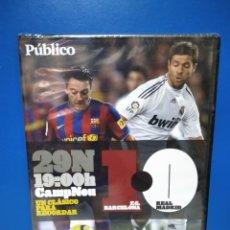 Coleccionismo deportivo: DVD F. C. BARCELONA 1 REAL MADRID 0. Lote 222055091