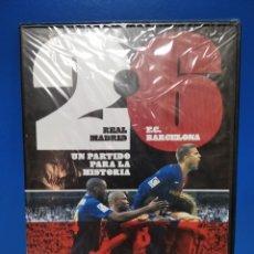 Coleccionismo deportivo: DVD REAL MADRID 2 - 6 F. C. BARCELONA. Lote 222057368