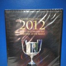 Coleccionismo deportivo: DVD, ATHLETIC CLUB 0 - 3 F. C BARCELONA, FINAL DE COPA DEL REY 2012, MADRID, 25 DE MAYO. Lote 222067177