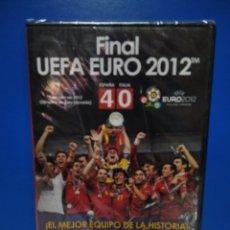 Coleccionismo deportivo: DVD FINAL UEFA EURO 2012 ESPAÑA 4 - ITALIA 0 .. Lote 222078148