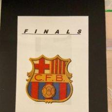 Coleccionismo deportivo: ESUDO EN RELIEVE DEL BARCELONA. Lote 222723897