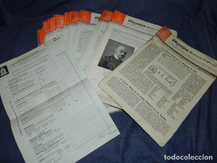 (M) INCREIBLE DOCUMENTACIÓN XI JUEGOS OLIMPICOS DE BERLIN 1936 (ORIGINAL) OLYMPIADE BERLIN (Coleccionismo Deportivo - Documentos de Deportes - Otros)