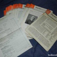 Coleccionismo deportivo: (M) INCREIBLE DOCUMENTACIÓN XI JUEGOS OLIMPICOS DE BERLIN 1936 (ORIGINAL) OLYMPIADE BERLIN. Lote 223326691