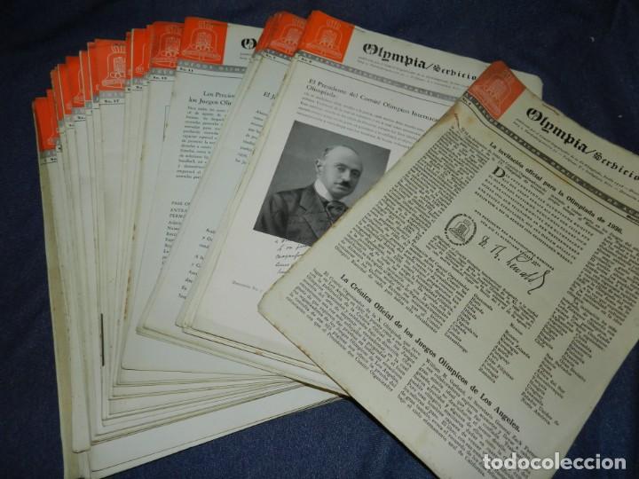 Coleccionismo deportivo: (M) INCREIBLE DOCUMENTACIÓN XI JUEGOS OLIMPICOS DE BERLIN 1936 (ORIGINAL) OLYMPIADE BERLIN - Foto 8 - 223326691
