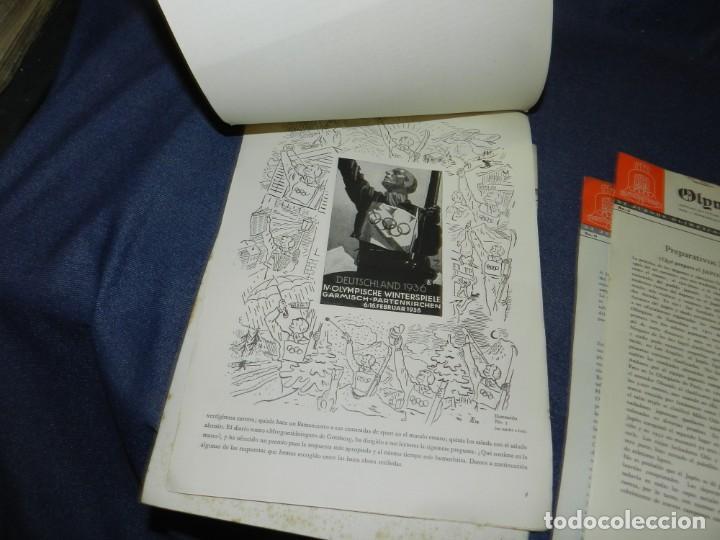 Coleccionismo deportivo: (M) INCREIBLE DOCUMENTACIÓN XI JUEGOS OLIMPICOS DE BERLIN 1936 (ORIGINAL) OLYMPIADE BERLIN - Foto 12 - 223326691