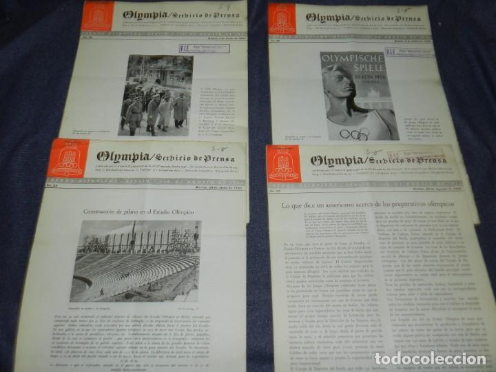 Coleccionismo deportivo: (M) INCREIBLE DOCUMENTACIÓN XI JUEGOS OLIMPICOS DE BERLIN 1936 (ORIGINAL) OLYMPIADE BERLIN - Foto 22 - 223326691
