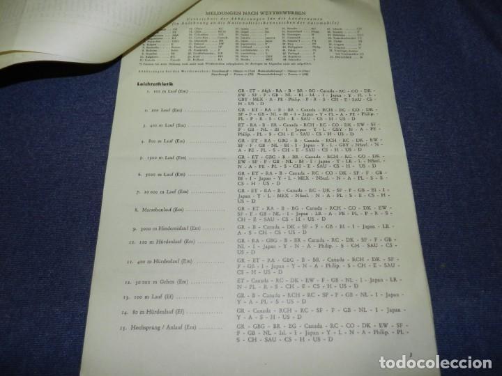 Coleccionismo deportivo: (M) INCREIBLE DOCUMENTACIÓN XI JUEGOS OLIMPICOS DE BERLIN 1936 (ORIGINAL) OLYMPIADE BERLIN - Foto 24 - 223326691