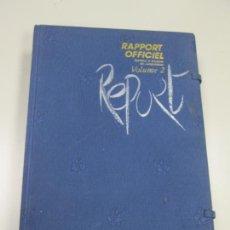 Coleccionismo deportivo: OLIMPIADAS SEUL RAPPORT OFFICIEL JEUX DE LA XXIVEME OLYMPIADE SEOUL 1988 - VOLUMEN 2 - 1989. Lote 223561352