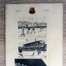 Coleccionismo deportivo: MINUTA DE LAS BODAS DE ORO DEL F.C. BARCELONA HOTEL RITZ EL 27 DE NOVIEMBRE 1949. Lote 223732986