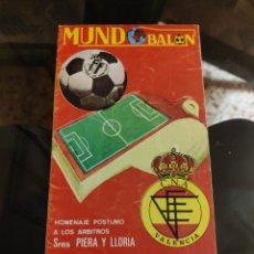 Colecionismo desportivo: MUNDO BALÓN AÑO I, N° 10: VA PARTIDOS (7 JUNIO DE 1975). Lote 224259555