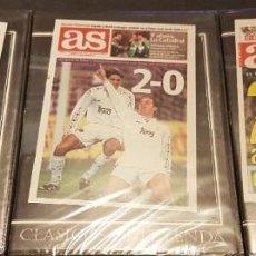 Coleccionismo deportivo: CLÁSICOS DE LEYENDA DVD PARTIDOS DE FÚTBOL VICTORIAS REAL MADRID FRENTE AL FC BARCELONA. Lote 224399155