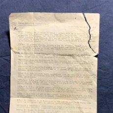 Coleccionismo deportivo: GRUPO DEPORTIVO NAVACERRADA MADRID 1959 HOJA ACTIVIDADES INFORMACION GENERAL TARIFAS 32X22CMS. Lote 225794582