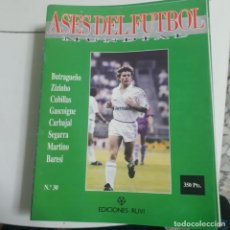 Coleccionismo deportivo: LOTE 28 FASCÍCULOS ASES DEL FUTBOL MUNDIAL 1992. Lote 227708395