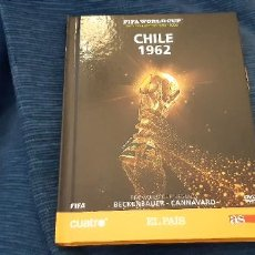 Coleccionismo deportivo: LIBRO DVD PELÍCULA OFICIAL FIFA MUNDIAL CHILE 1962 BRASIL PELE LEYENDA WORLD CUP LEGEND BECKENBAUER. Lote 228856210