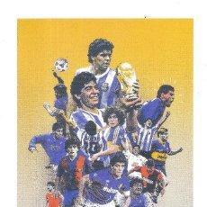 Coleccionismo deportivo: LÁMINA DIEGO ARMANDO MARADONA. Lote 230211480