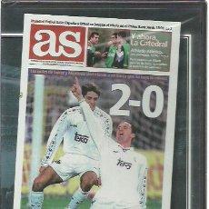 Coleccionismo deportivo: DVD REAL MADRID 2-BARCELONA 0.CLASICOS DE LEYENDA.7 DICIEMBRE 1996.SELLADO.. Lote 230507060