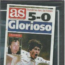 Coleccionismo deportivo: DVD REAL MADRID 5-BARCELONA 0.CLASICOS DE LEYENDA.7 ENERO 1995.SELLADO.. Lote 230508960