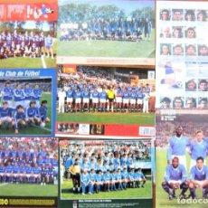 Collectionnisme sportif: LOTE 20 POSTER Y + REAL OVIEDO CF DIFER. TAMAÑOS FOTO ORIGINALES REVISTA BUEN ESTADO ROV57. Lote 232435710