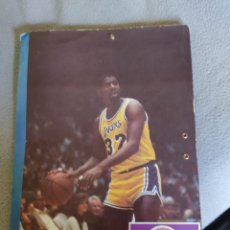 Coleccionismo deportivo: CARPETAS NBA MAGIC JOHNSON LARRY BIRD MANUTE BOL. Lote 233463210